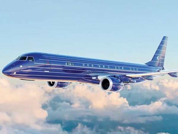 Embraer Lineage 1000E - özününzü evdə hiss edəcəksiniz - FOTO