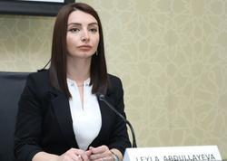 """Leyla Abdullayeva qondarma """"andiçmə"""" ilə bağlı Ermənistan XİN-in şərhinə cavab verdi"""