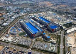 """""""Samsung"""" 5 nanometrlik çiplərin buraxılışı üzrə zavodun inşasına başlayıb"""