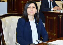 """Sevil Mikayılova: """"Bütün dünyanın diqqəti Azərbaycan Prezidentinin təşəbbüskarı olduğu tədbirə yönəlib"""""""