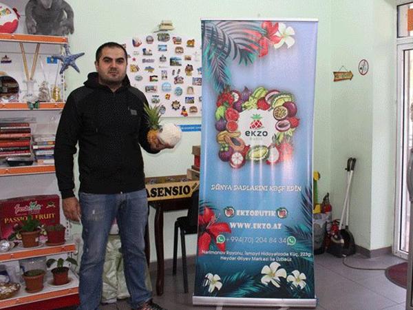Kilosu 1300 manata göbələk, 130 manata gilas - Reportaj - FOTO