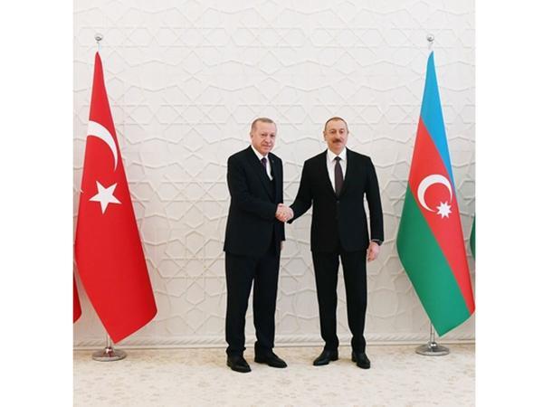 Rəcəb Tayyib Ərdoğan Prezident İlham Əliyevə telefonla zəng edib