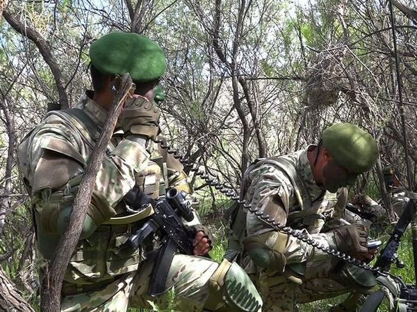 Əlahiddə Ümumqoşun Orduda kəşfiyyatçılar arasında yarışlar keçirilib - FOTO - VİDEO
