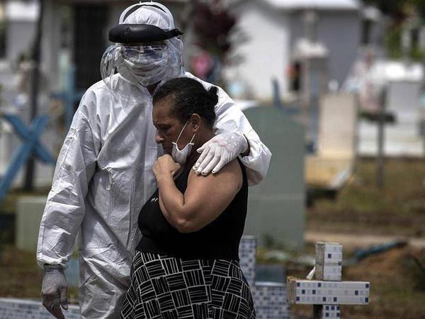 Braziliyada koronavirusdan 1 sutkada 1005 nəfər öldü