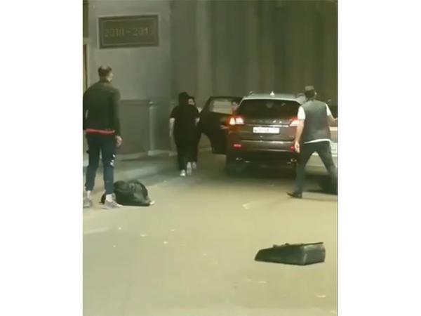 Gənc kuryerin öldüyü qəzadan görüntülər - FOTO