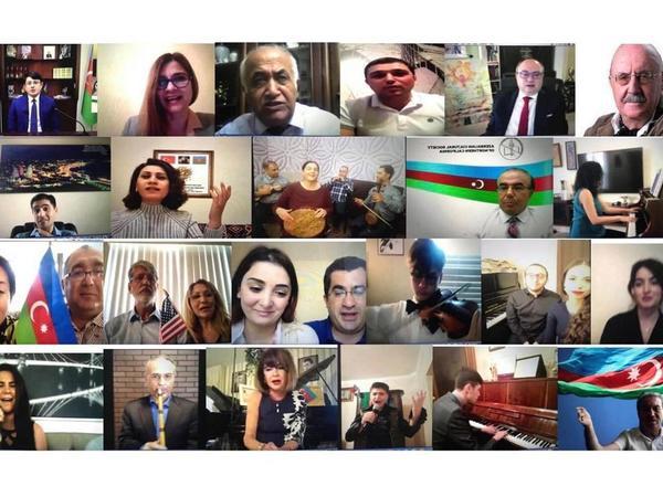 """28 May - Respublika Gününə həsr olunmuş virtual bayram tədbiri keçirilib - <span class=""""color_red"""">FOTO</span>"""