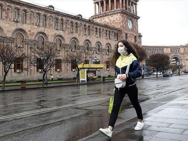 Ermənistanda sutka ərzində 372 nəfər koronavirusa yoluxub
