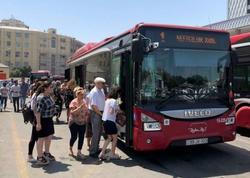 """BAKIDA YENİ QADAĞA: Bu şəxslər avtobusa buraxılmayacaq - <span class=""""color_red"""">VİDEO</span>"""
