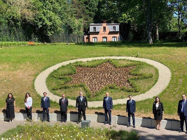 Brüsseldə AXC-nin yaradılmasının 102-ci ildönümü münasibətilə tədbir keçirilib - VİDEO - FOTO