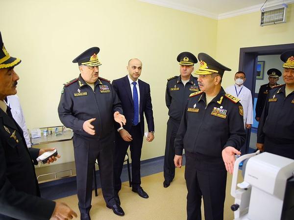 Müdafiə naziri Baş Klinik Hospitalın yeni korpusunun açılışında iştirak edib - VİDEO - FOTO