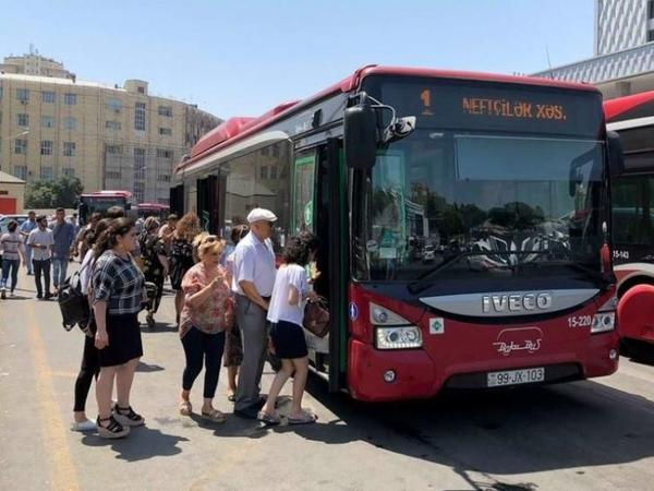 BAKIDA YENİ QADAĞA: Bu şəxslər avtobusa buraxılmayacaq
