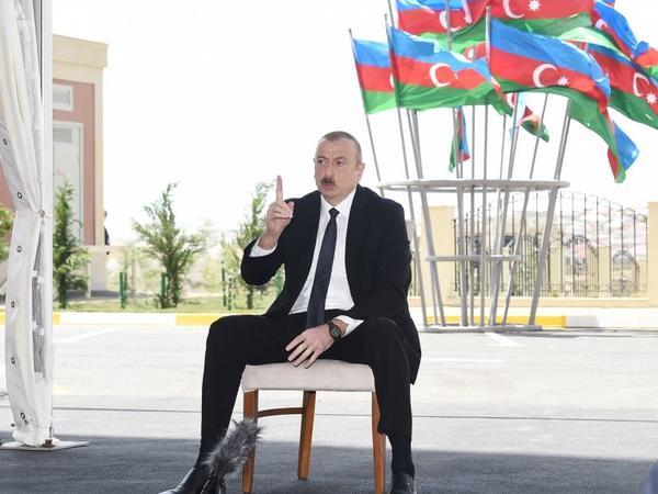 Azərbaycan Prezidenti: Məcburi köçkünlərin problemləri ardıcıl şəkildə öz həllini tapır