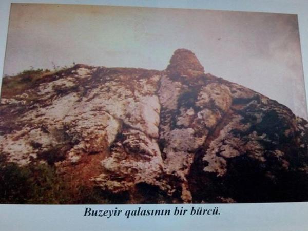 Lerikdəki Büzeyir qalası qədim insan məskənidir