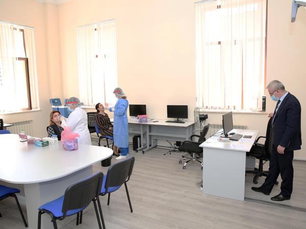 Bakı Ali Neft Məktəbinin əməkdaşlarının COVID-19 analiz nümunələrinin nəticələri neqativ çıxıb