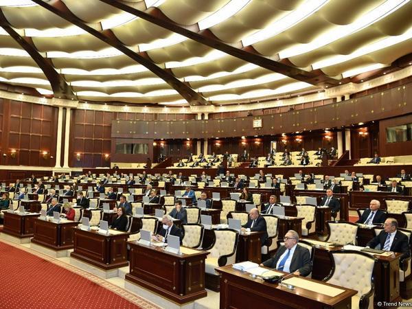 Milli Məclisin növbədənkənar sessiyasının ilk plenar iclasının vaxtı açıqlandı