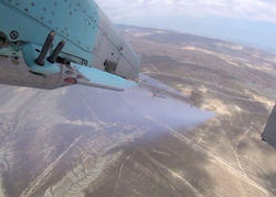 """Azərbaycan HHQ-nin aviasiyası döyüş atışlı taktiki-uçuş təlimləri keçirib - <span class=""""color_red"""">VİDEO - FOTO</span>"""