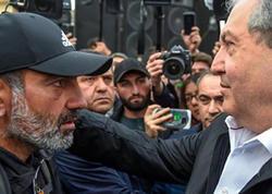 """Ermənistan prezidentinin oğlu ərə getdi - <span class=""""color_red"""">FOTO</span>"""