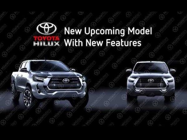 Yenilənmiş Toyota HiLux modelinin debüt tarixi məlum olub - FOTO