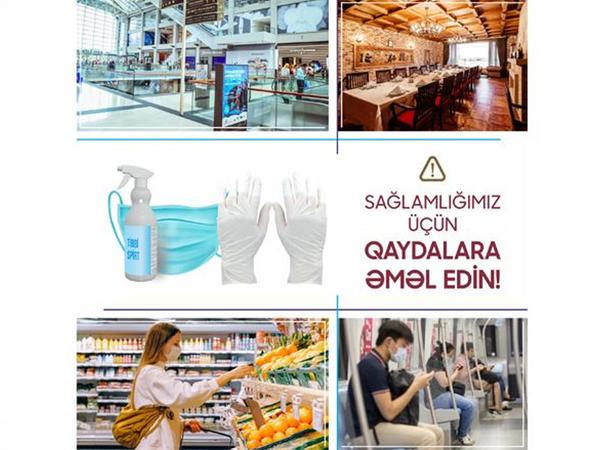 """KOBİA: Sahibkarların """"COVİD-19""""un profilaktikasına dair qaydalara əməl etməsi vacibdir"""