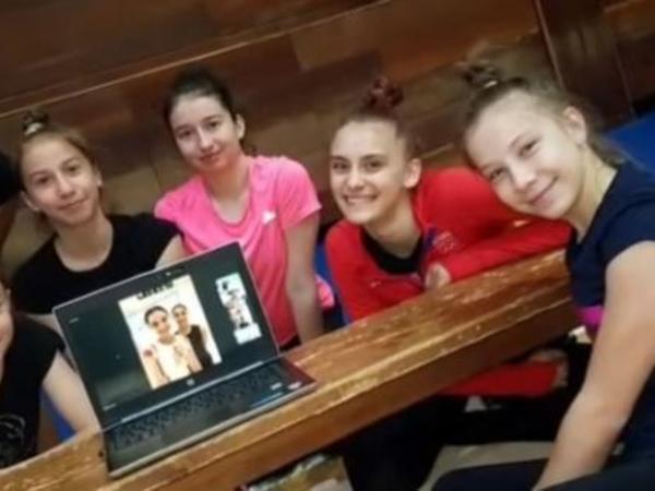 Karantin günlərində bədii gimnastlardan xarici idmançılara ustad dərsləri