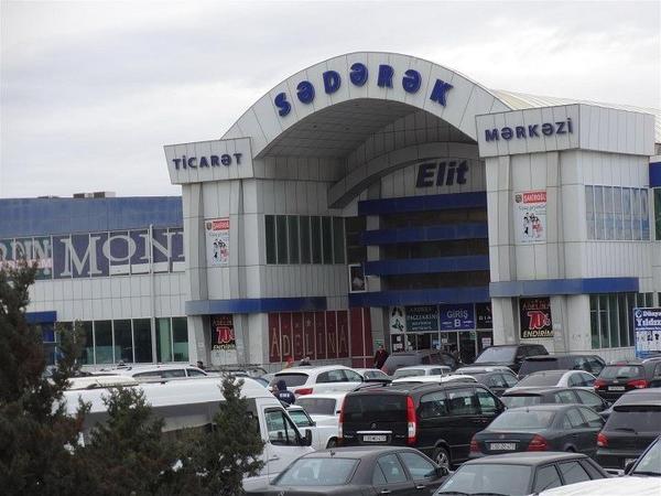 """""""Sədərək"""" Ticarət Mərkəzində maskadan istifadəyə nəzarət gücləndirildi"""