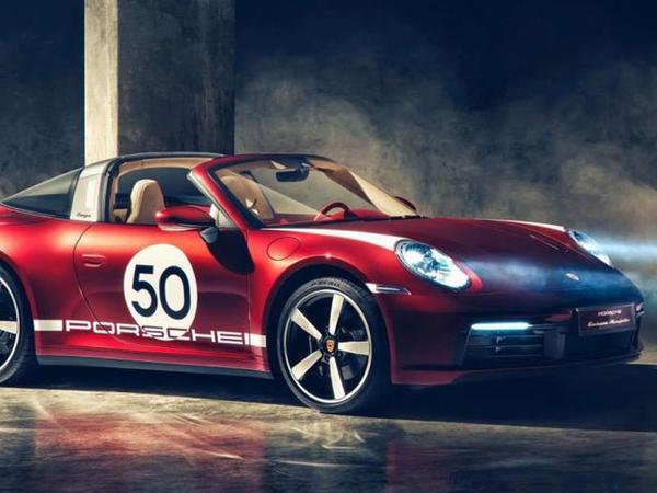 Porsche yeni Heritage Design seriyasından olan ilk sportkarı təqdim edib - FOTO