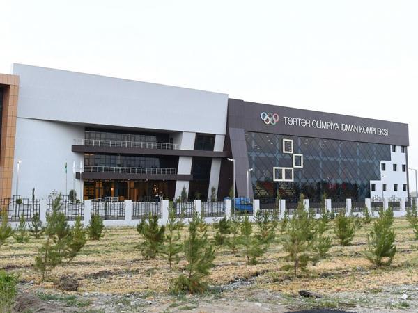 Tərtər Olimpiya İdman Kompleksinin açılışı olub