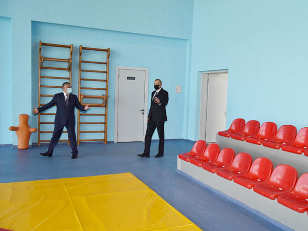 Tərtər Olimpiya İdman Kompleksinin açılışı olub - FOTO