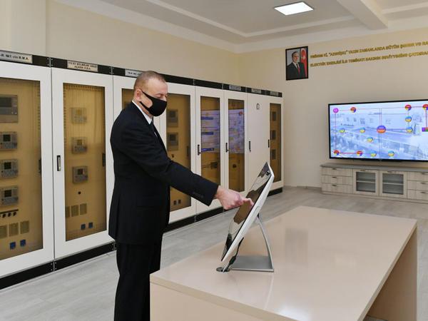 """""""Tərtər"""" elektrik yarımstansiyası yenidənqurmadan sonra istismara verilib - FOTO"""