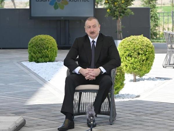 Prezident İlham Əliyev: Bugünkü könüllülər sabahın rəhbərləridir