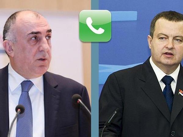 Azərbaycan və Serbiyanın XİN başçıları arasında telefon danışığı olub