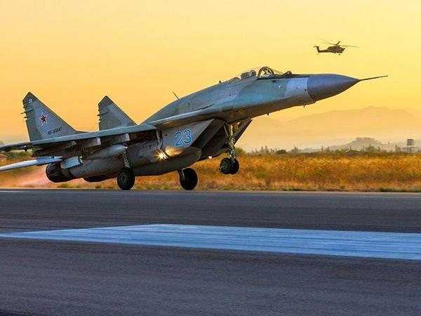 """Suriya Rusiyadan """"MiQ-29"""" qırıcılarının ikinci partiyasını alıb"""