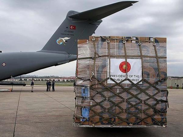 Türkiyə Afrikaya tibbi yardım göndərdi
