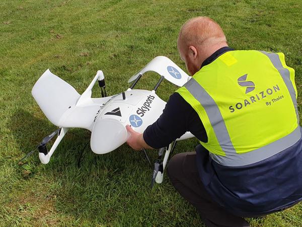 """Şotlandiyada """"Covid-19"""" testləri dronlar vasitəsilə çatdırılacaq"""