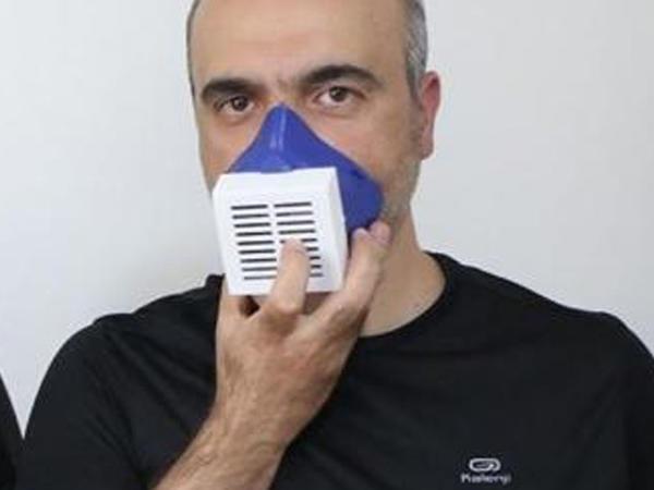 Virusları yox edən elektron maska