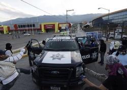 Meksikada polis zorakılığına qarşı etirazlar başladı