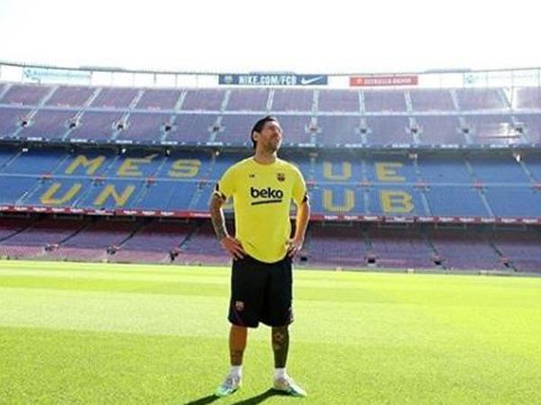 """&quot;Bura üçün həqiqətən darıxmışam&quot; - <span class=""""color_red"""">Messi</span>"""