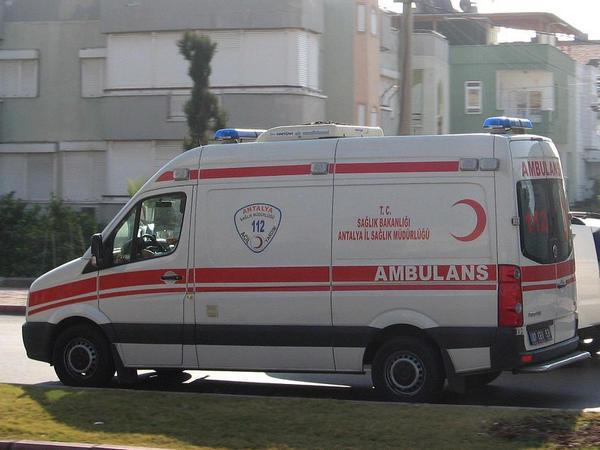 Türkiyədə qəza baş verib, 10 nəfər yaralanıb