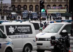 Parisdə irqçiliyə qarşı aksiya zamanı 26 nəfər saxlanılıb - VİDEO