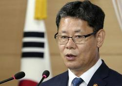 Cənubi Koreyanın Birləşmə naziri istefa vermək qərarını açıqlayıb
