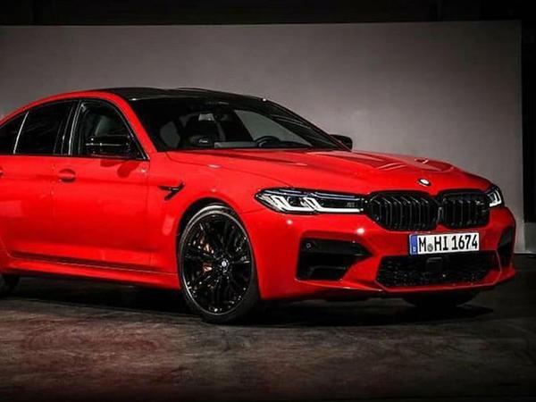 Yenilənmiş BMW M5 modelinin şəkli peyda olub - FOTO
