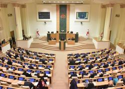 Gürcüstan parlamenti seçki sistemi ilə əlaqədar konstitusiyaya təklif olunan dəyişiklikləri qəbul edib