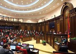 Ermənistanda Konstitusiyaya dəyişikliklər birinci oxunuşda qəbul edilib