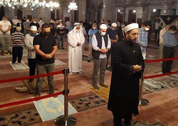 """100 gün sonra camaat namazı qılındı, <span class=""""color_red""""> imam göz yaşlarını saxlaya bilmədi - VİDEO - FOTO</span>"""