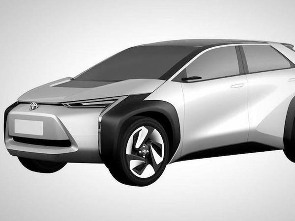 Toyota iki elektrik krossoverinin dizaynını patentləşdirib - FOTO