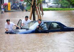 Çində güclü yağışlar səbəbindən 12 nəfər həlak olub