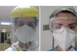 """Pandemiya xəstəxanasının həkimi Nigar Hüseynova: """"Hamımız yoluxacağıq, amma..."""" - <span class=""""color_red"""">FOTO</span>"""