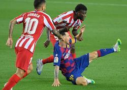 """""""Barselona"""" - """"Atletiko"""" oyununda 4 qol, Messinin 700-cü qolu"""