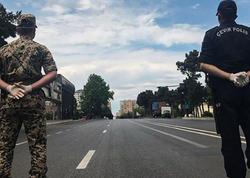 Bakıda bəzi yerlərdə polis postları götürüldü