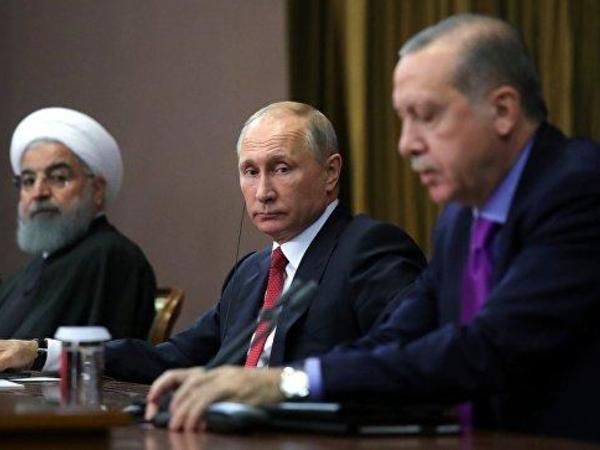 Bu gün Putin, Ərdoğan və Ruhani arasında videokonfrans baş tutacaq